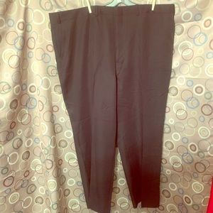 NWT TownCraft Size 48 W Black Slacks